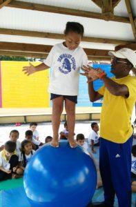 Arts du cirque à la maternelle
