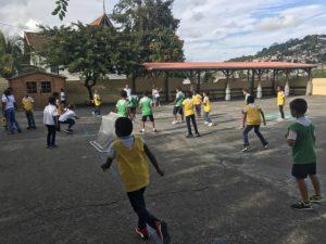 Tournoi de foot des équipes filles garçons
